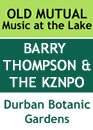 Barry Thompson and the KZNPO Poster